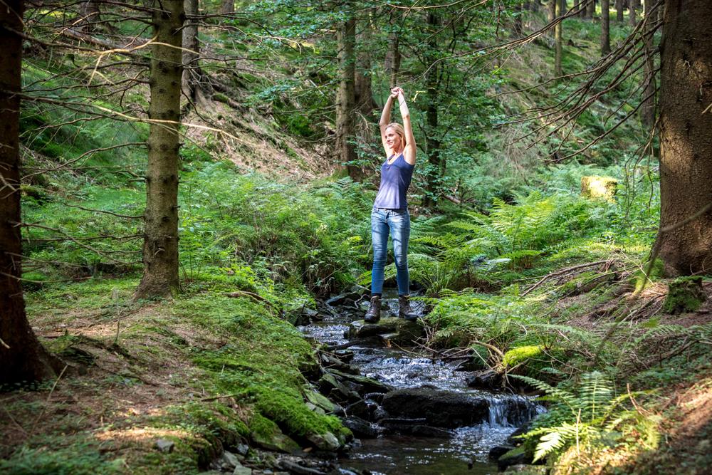 Zu Wellness gehören auch beruhigende Erlebnisse in der Natur © Wellness-Hotels & Resorts GmbH, Düsseldorf